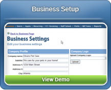 Personalize your account settings in the Business Setup